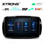 9 inch IPS Screen 2GB RAM 32GB ROM Car GPS Navigation Multimedia Player with Built-in CarPlay and DSP Fit for Smart