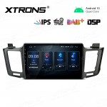 10.1 inch  IPS Screen Navigation Multimedia Player with Built-in DSP Fit for TOYOTA (Left Hand Drive Vehicles ONLY)
