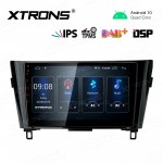 10.1 inch IPS Screen with Built-in DSP Navigation Multimedia Player Fit for NISSAN