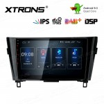 10.1 inch Android 9.0 IPS Screen with Built-in DSP Navigation Multimedia Player Fit for NISSAN