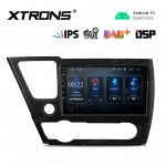 9 inch IPS Screen Navigation Multimedia Player with Built-in DSP Fit for Honda (Fit Left Hand Driver Vehicles in U.S. Market ONLY)
