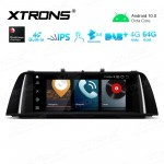 10.25 inch Car Android Multimedia Navigation System with Built-in 4G for BMW 5 Series F10/F11 CIC