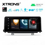 10.25 inch Car Android Multimedia Navigation System with Built-in 4G Support Carriers in Asia and Europe for BMW X5 F15 NBT