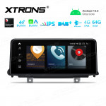 10.25 inch Car Android Multimedia Navigation System with Built-in CarAutoPlay and Android Auto with Built-in 4G Support Carriers in Asia and Europe for BMW X5 F15 NBT