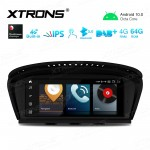 8.8 inch Car Android Multimedia Navigation System with Built-in 4G for BMW 3 Series E90/5 Series E60 CIC