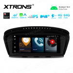8.8 inch Car Android Multimedia Navigation System with Built-in CarAutoPlay & Android Auto, Built-in 4G Support Carriers in Asia and Europe for BMW 3 Series E90/5 Series E60 CIC