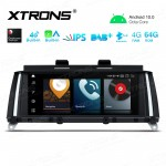 8.8 inch Car Android Multimedia Navigation System with Built-in Latest CarAutoPlay and Android Auto, Built-in 4G (Support Local Carriers in Asia and Europe Area ONLY) for BMW X3 F25 CIC