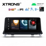 10.25 inch Android Navigation System with Built-in 4G Support Carriers in Asia and Europe for BMW X5 E70 / X6 E71 CCC