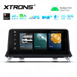 10.25 inch Android Navigation System with Built-in CarAutoPlay & Android Auto, Built-in 4G Support Carriers in Asia and Europe for BMW X5 E70 / X6 E71 CCC