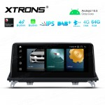 10.25 inch Android Navigation System with Built-in CarAutoPlay & Android Auto, Built-in 4G Support carries in Asia and Europe for BMW X5 E70 / X6 E71 CIC