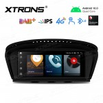 8.8 inch Android Navigation System with Built-in 4G Support Carriers in Asia and Europe for BMW 3 Series E90 / 5 Series E60 CCC