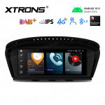 8.8 inch Android Navigation System with Built-in 4G Support Carriers in Asia and Europe for BMW 3 Series E90 / 5 Series E60 CIC