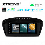 8.8 inch Android Navigation System with Built-in CarAutoPlay and Android Auto and Built-in 4G Support Carriers in Asia and Europe for BMW 3 Series E90 / 5 Series E60 CIC