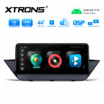 Integrated 4G Solution: 10.25 inch Octa-Core 4GB RAM + 128GB ROM Android Car GPS Multimedia Player With Built-in CarAutoPlay and DSP For BMW X1 E84 With No Original Display