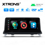 Integrated 4G Solution: 10.25 inch Octa-Core 4GB RAM + 128GB ROM Android Car GPS Multimedia Player With Built-in CarAutoPlay and DSP For BMW X5 / X6 CCC