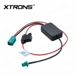 12V Car FM/AM Radio Signal Amplifier reception booster with FAKRA II Connector