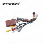 ISO WIRING HARNESS Rockford Decoder for XTRONS Mitsubishi Unit