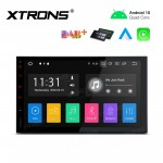 "7""Android 10.0 car stereo infotainment system Double Din Multimedia Car Stereo"