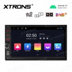 7 inch Android 10.0 In-Dash GPS Navigation Multimedia System with Full RCA Output
