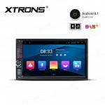 "7"" Android 8.1 with Full RCA Output In-Dash GPS Navigation Multimedia System"