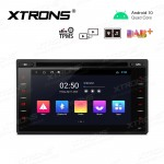 6.2 inch Android 10.0 Navigation System Car DVD Player with Full RCA Output