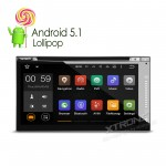"6.95""  Android 5.1 Lolipop Quad-Core  64-Bit Operating System Double Din Car DVD Player with Built-in DVB-T TV"