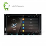 "6.95"" Android 6.0 Marshmallow HD Digital Multi-touch Screen 1080P Video Two Din Car DVD Player"