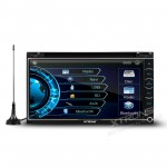 "6.95""HD Digital Capacitive Touch Screen Bluetooh  Double Din  Car DVD Player With  Built-in DVB-T"