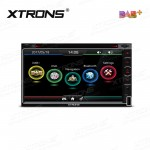 "6.95""HD Digital Built-in DAB+ Tuner Touch Screen Double Din Car DVD Player"