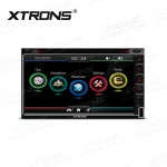 "6.95""HD Digital Touch Screen Car GPS Double Din DVD Player"