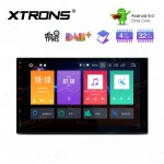 "7""Android 9.0  Octa-Core 32GB ROM + 4G RAM Car Multimedia Stereo with GPS"