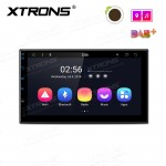 "7"" Android 8.1 car stereo smart Multimedia player IPS screen with 2.5D curved glasses"