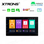 7 inch Double Din Android Octa-Core Multimedia Player Navigation System with Built-in Carplay and DSP and Screen Mirroring