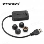 """Car USB TPMS Tire Pressure Monitoring Alarm System for XTRONS Android 9.0 Units of """"PST""""  & """"PS"""" Series"""