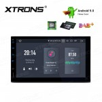 "7""Android 9.0 Double Din car stereo Navigation system with HDMI Output"