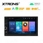7 inch Android 10 Quad-core 2GB RAM + 32GB ROM GPS Multimedia Player with Built-in DSP Built-in CarAutoPlay & Android Auto