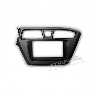 HYUNDAI i-20 2014+ Double Din Fascia Panel Fascia Surround Adaptor Plate (Left Wheel)