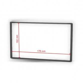 Universal Frame for Double Din Installation Fascia Panel (178 x 102 mm)