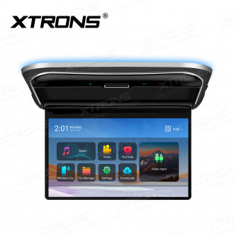 12.5 inch FHD 1920*1080 IPS Screen Octa-Core Android Car Roof Multimedia Player with Ultra-thin Design and Screen Mirroring