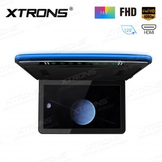 """13.3"""" FHD Ultra-thin digital TFT 16:9 roof mounted monitor with HDMI Input"""