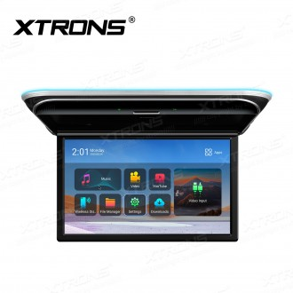 """17.3"""" FHD 1080P IPS Screen Octa-core Android Car Roof Multimedia Player with Superior Sound and Screen Mirroring"""