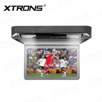 13.3 inch 1080P Video HD Digital TFT Monitor 16:9 Wide Screen Car Roof Player with HDMI Port