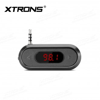 Wireless FM Transmitter Mini AUX Adapter with 3.5mm Jack