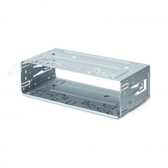 Universal single din stereo fitting cage