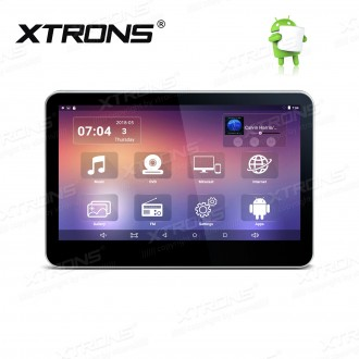 """10.1"""" capacitive touch screen 1080P Video screen mirroring android Headrest DVD Player"""
