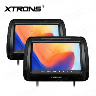 """2*9"""" DVD Player Well Designed Car Headrest with HDMI Input"""