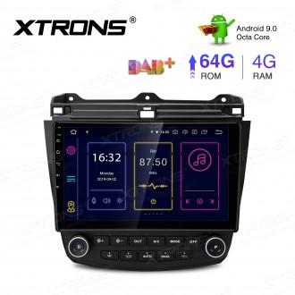 10.1 inch Android 9.0 Octa-Core 64G ROM + 4G RAM Car Stereo Multimedia GPS System for HONDA(Fit Left Hand Drive Vehicles ONLY)