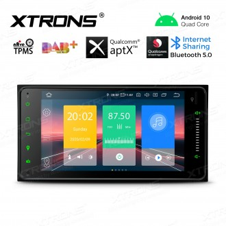 7 inch Android 10.0 Car Stereo Multimedia Navigation Player Custom fit for Toyota