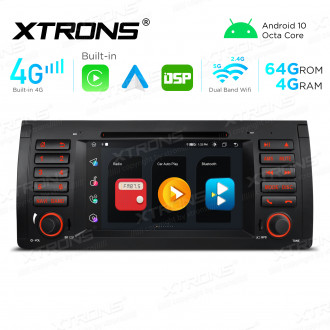 Integrated 4G Solution: 7 inch Octa-Core Android Multimedia Player Navigation System With Built-in CarAutoPlay and Android Auto and DSP For BMW