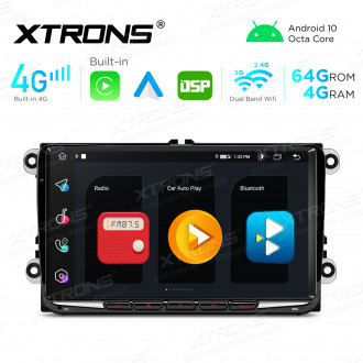 Integrated 4G Solution: 9 inch Octa-Core Android Multimedia Player Navigation System With Built-in CarAutoPlay and Android Auto and DSP For VW, Skoda and SEAT